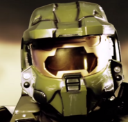 Master Chief Wearing Sunglasses