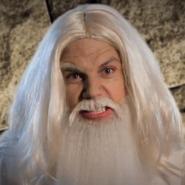Gandalf in Battle