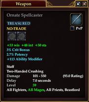 Ornate Spellcaster