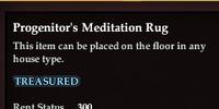 Progenitor's Meditation Rug
