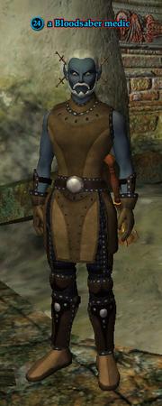 A Bloodsaber medic (Crypt of Betrayal) (dark elf)