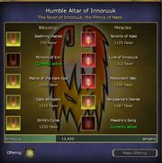 Innoruuk Blessings and Miracles