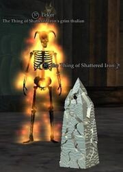 The Thing of Shattered Iron