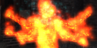 A summoned flare