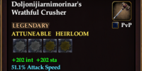 Doljonijiarnimorinar's Wrathful Crusher