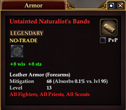 Untainted Naturalist's Bands