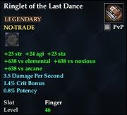 Ringlet of the Last Dance