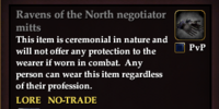 Ravens of the North negotiator mitts