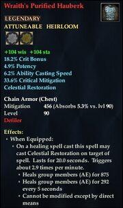 Wraith's Purified Hauberk
