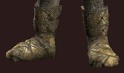 Protector's Leather Boots of the Winds (Equipped)