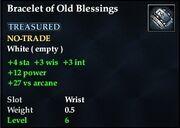 Bracelet of Old Blessings