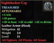 Nightshadow Cap