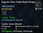 Expert's Fine Cloth Hand Wraps