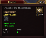 Trinket of the Thaumaturge