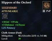 Slippers of the Orclord