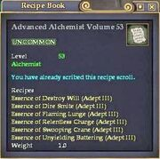 Advanced Alchemist Volume 53