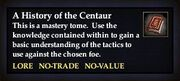 A History of the Centaur (Book)