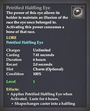 Petrified Halfling Eye