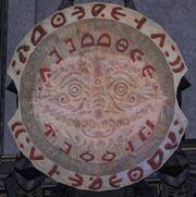 Shiny Brass Shield (Kite Shield)
