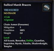 Sullied Marsh Bracers