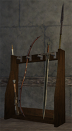 Weapon Rack Sales Display Placed