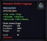 Mountain Stalker Leggings