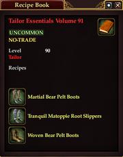 Tailor Essentials Volume 91