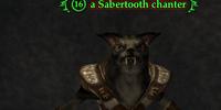 A Sabertooth chanter (Blackburrow)