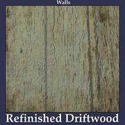 Walls Refinished Driftwood