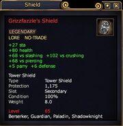 Grizzfazzle's Shield