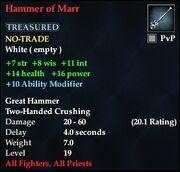 Hammer of Marr