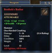 Brothek's Basher