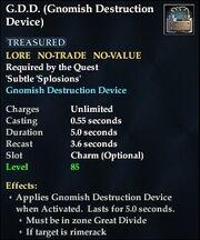 G.D.D. (Gnomish Destruction Device)