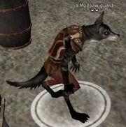 A Mudpaw guard