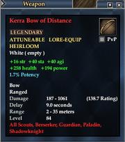 Kerra Bow of Distance