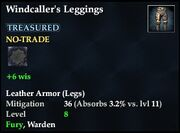 Windcaller's Leggings