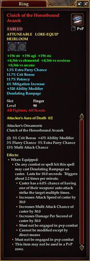 Clutch of the Honorbound Avazek