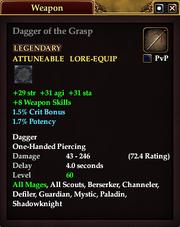 Dagger of the Grasp (60)