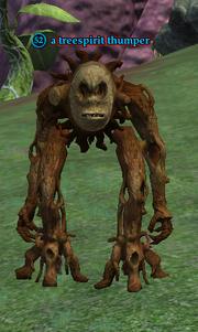 A treespirit thumper
