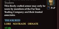 Grey Vest of the Far Seas Traders