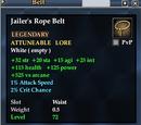 Jailer's Rope Belt