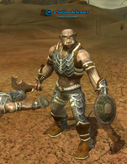 A Sullon defender