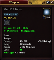Merciful Focus