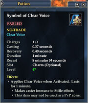 Symbol of Clear Voice