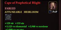 Cape of Prophetical Blight