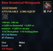 Bone Reinforced Wristguards