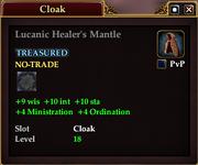 Lucanic Healer's Mantle