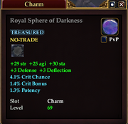 Royal Sphere of Darkness