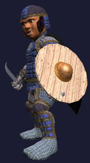 Enchanted Round Shield