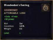 Bloodseeker's Earring